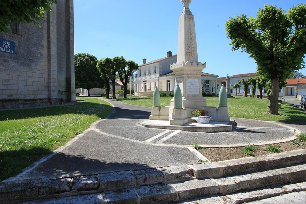 Tesson - Monument aux morts