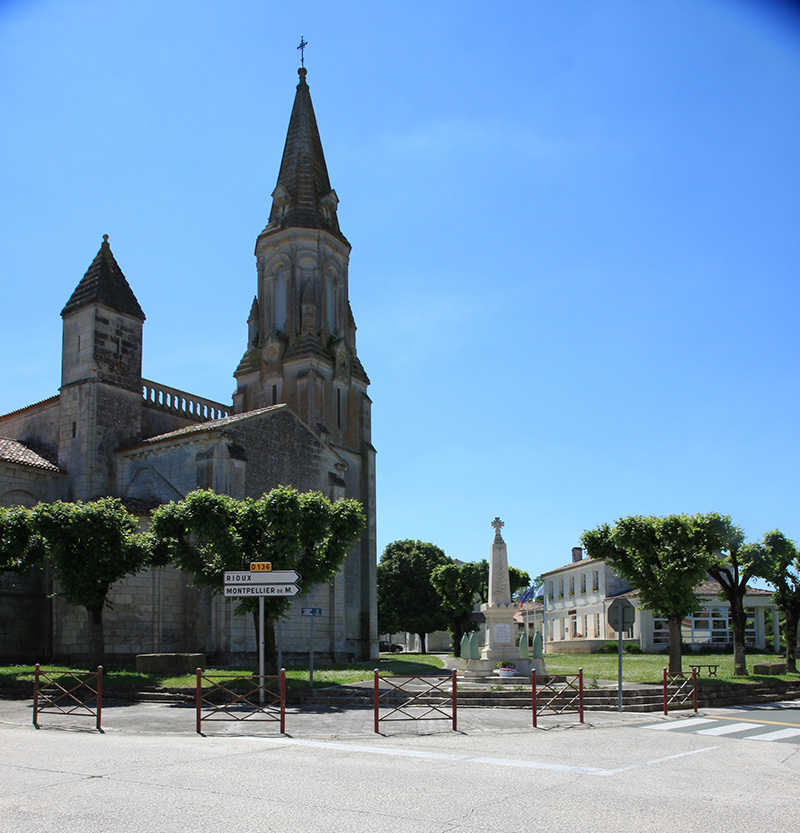 Tesson - église