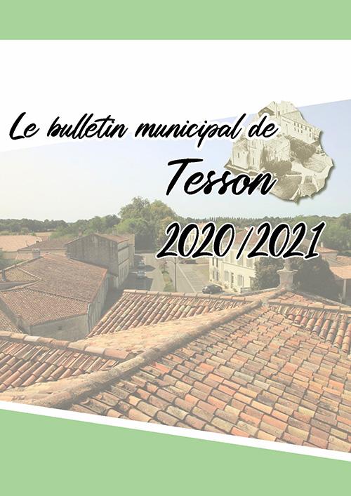 Tesson - Bulletin municipal 2020-2021